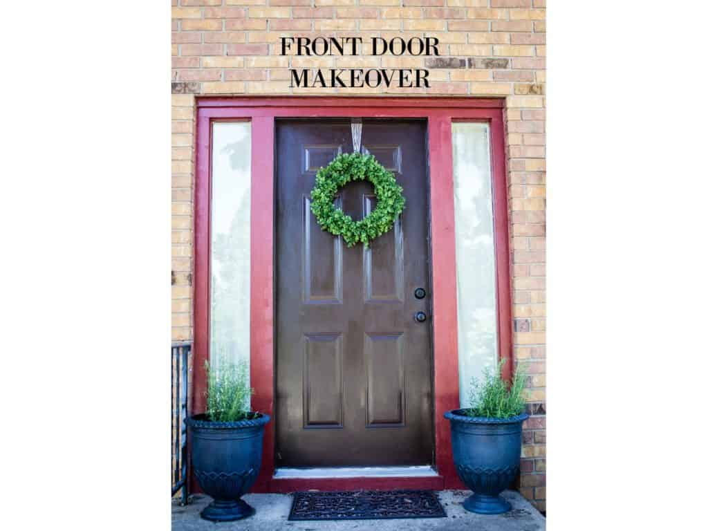 Front Door Makeover My Chic Obsession