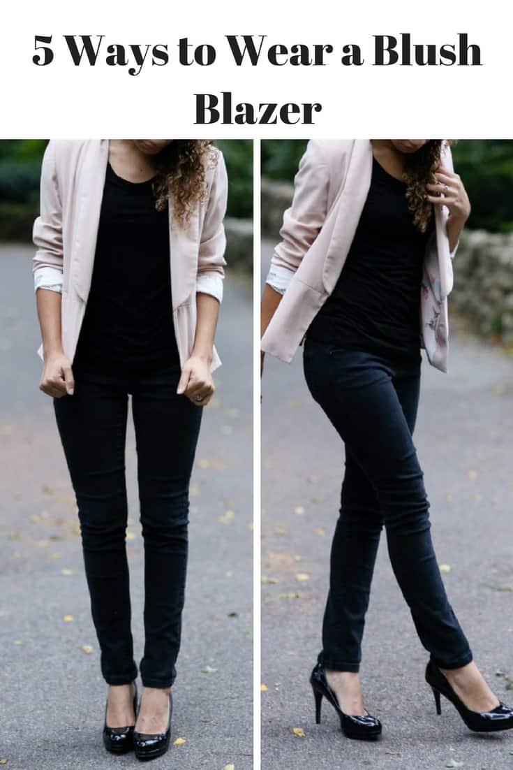 light-pink-blazer-outfit-ideas