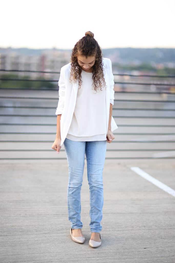 99c46155e89 5 Ways to Wear a White Blazer