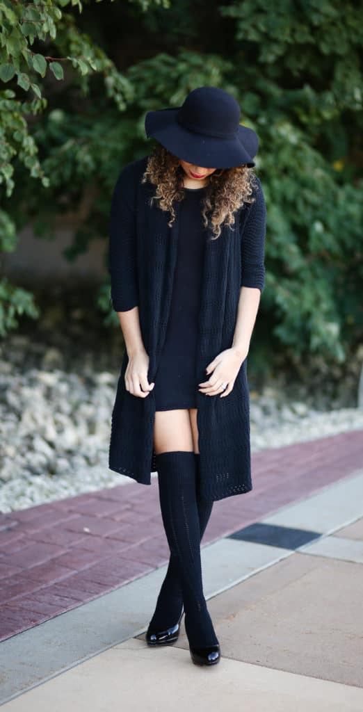 27eedda4e03 Thigh High Socks Outfit Ideas - My Chic Obsession