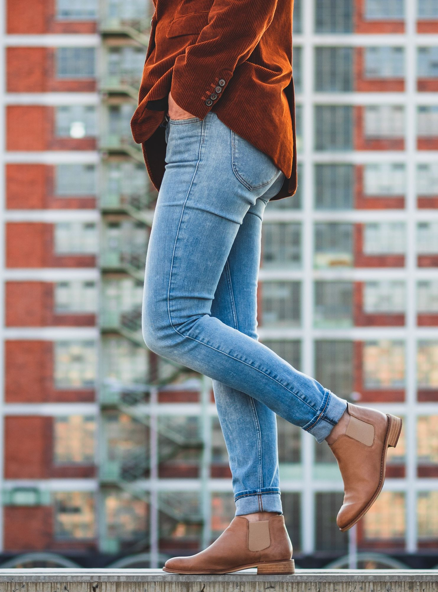 how to wear skinny jeans and booties