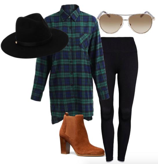 ways to wear black leggings