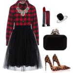 plaid outfit ideas