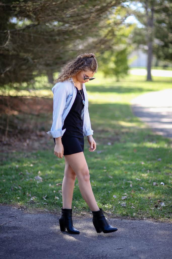 how to wear boots in spring