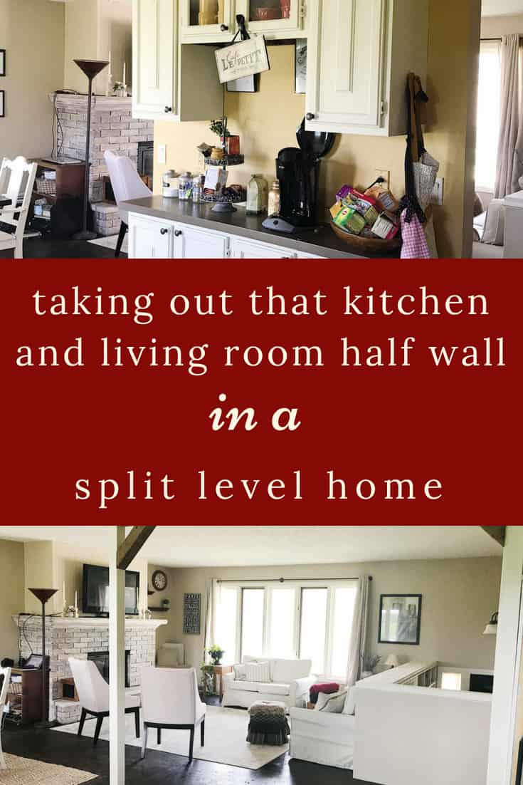 Diy Split Level Wall Renovation My Chic Obsession
