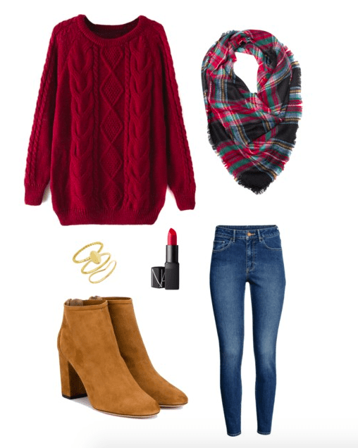 christmas outfit ideas - 4 Low-Key Christmas Outfit Ideas Winter Fashion - My Chic Obsession