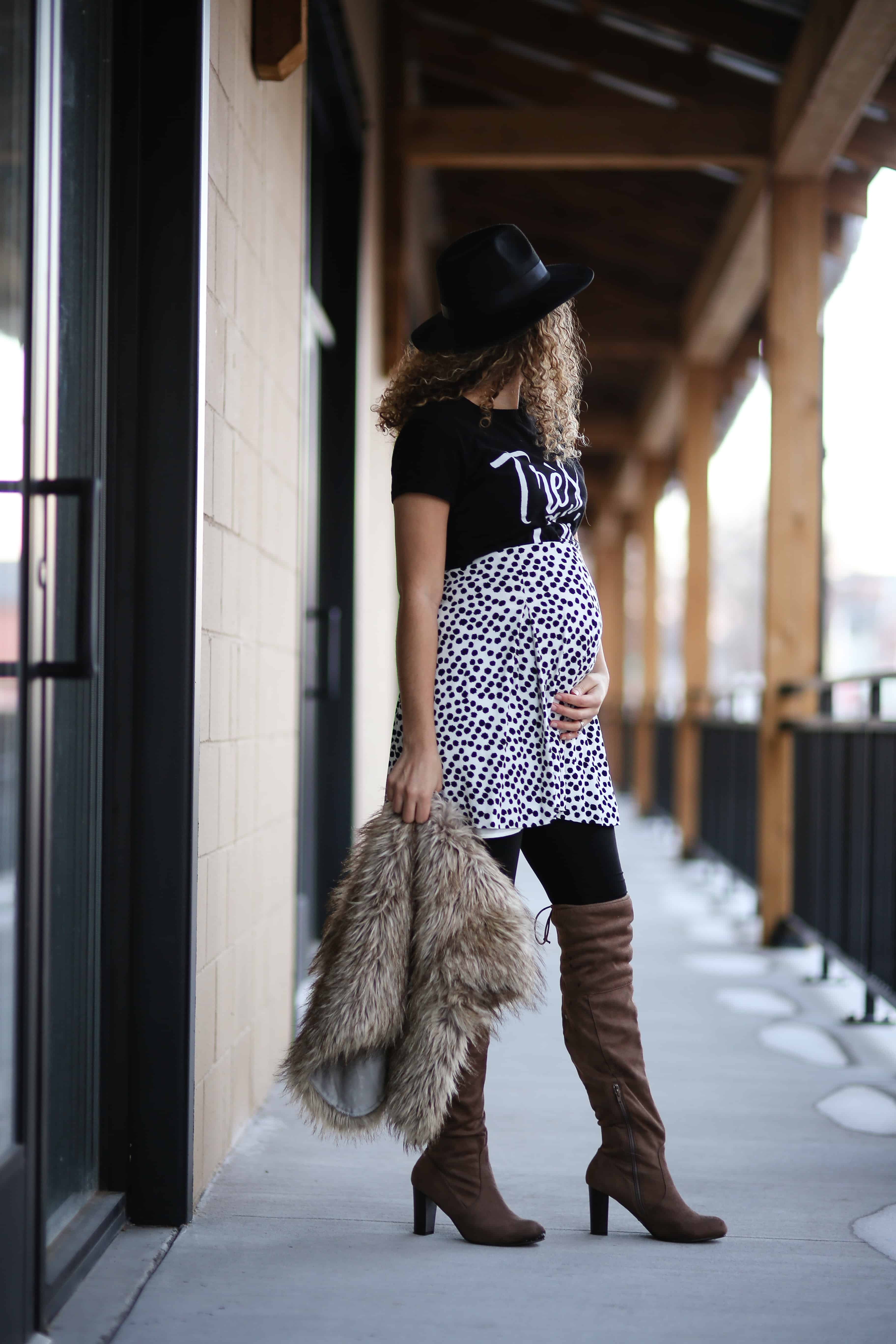 12 Winter Maternity Outfit Ideas Maternity Fashion My Chic Obsession
