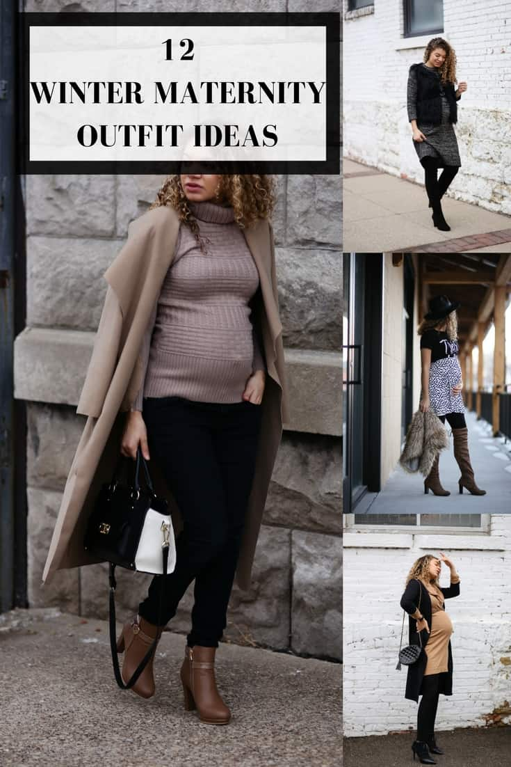 5664f0c16c94f 12 Winter Maternity Outfit Ideas | Maternity Fashion - MY CHIC OBSESSION