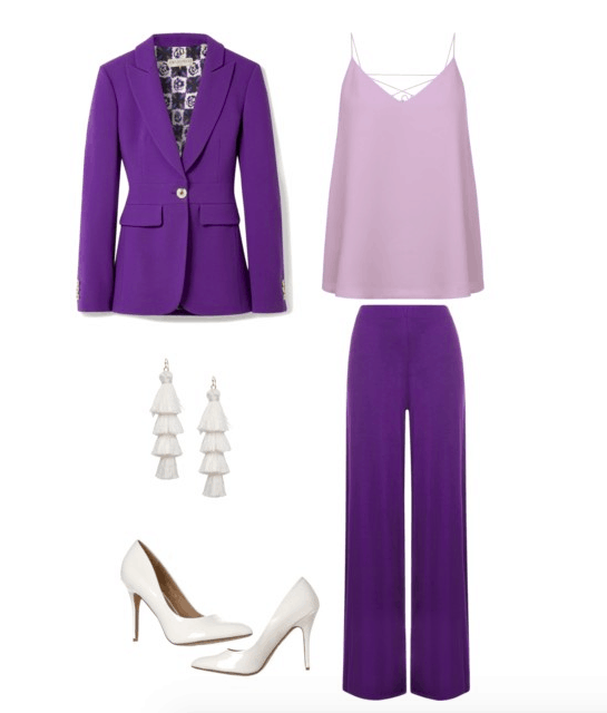 purple color combo