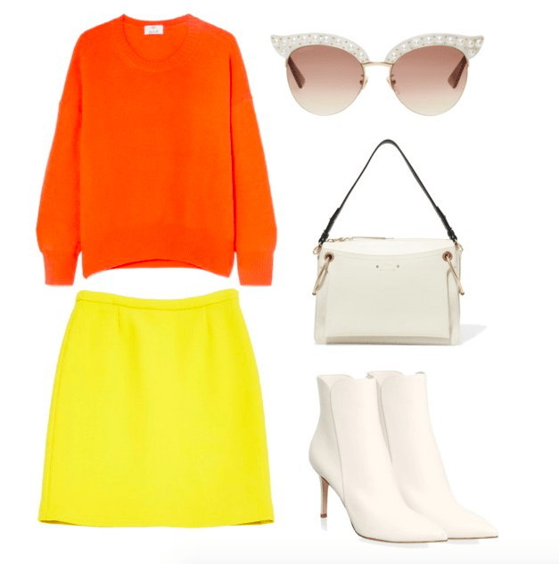 yellow and orange color combo