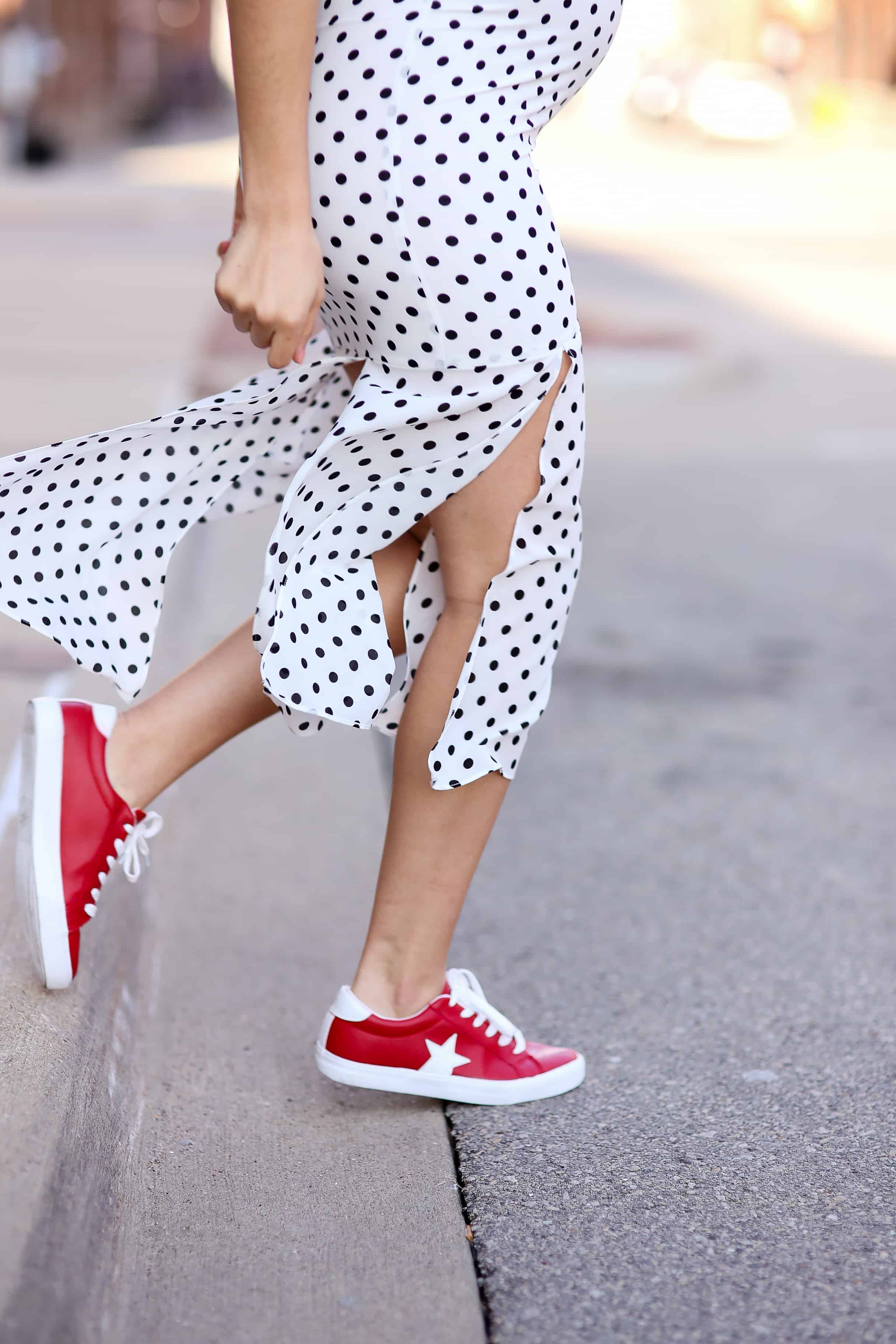 polka-dot-dress-sneakers