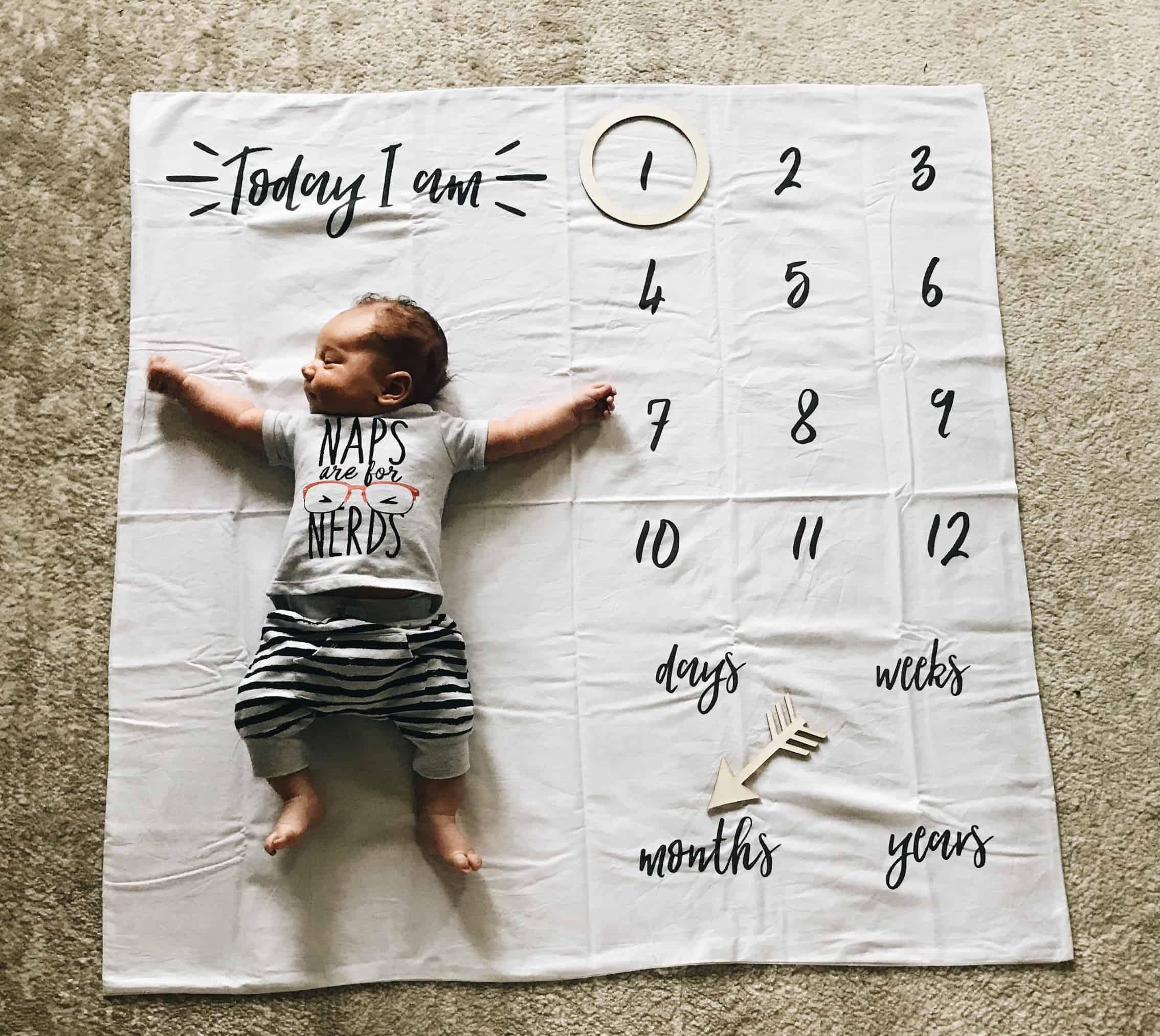 1 month baby update