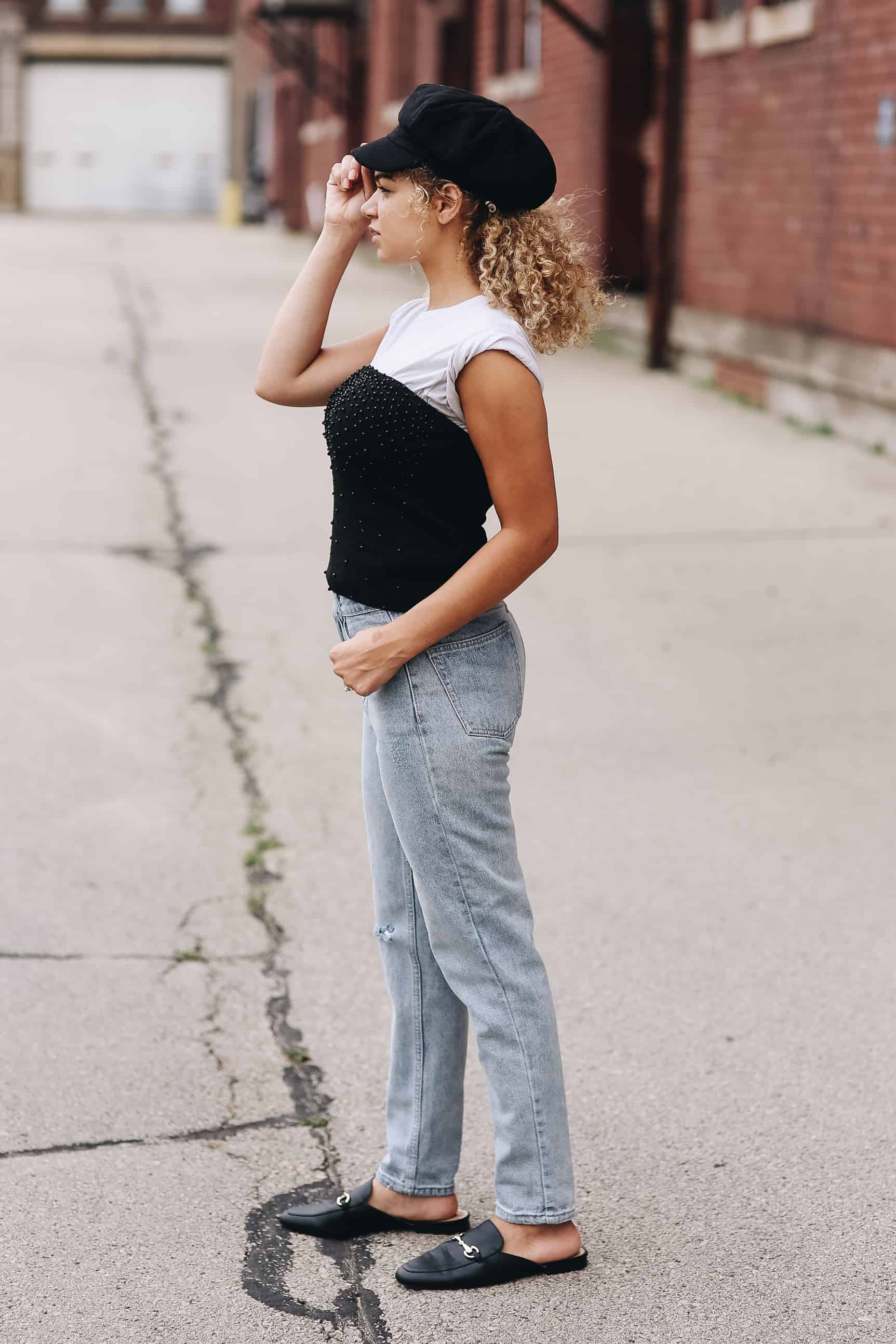 13cdd8c111 3 Cute Ways to Layer a T-Shirt - My Chic Obsession