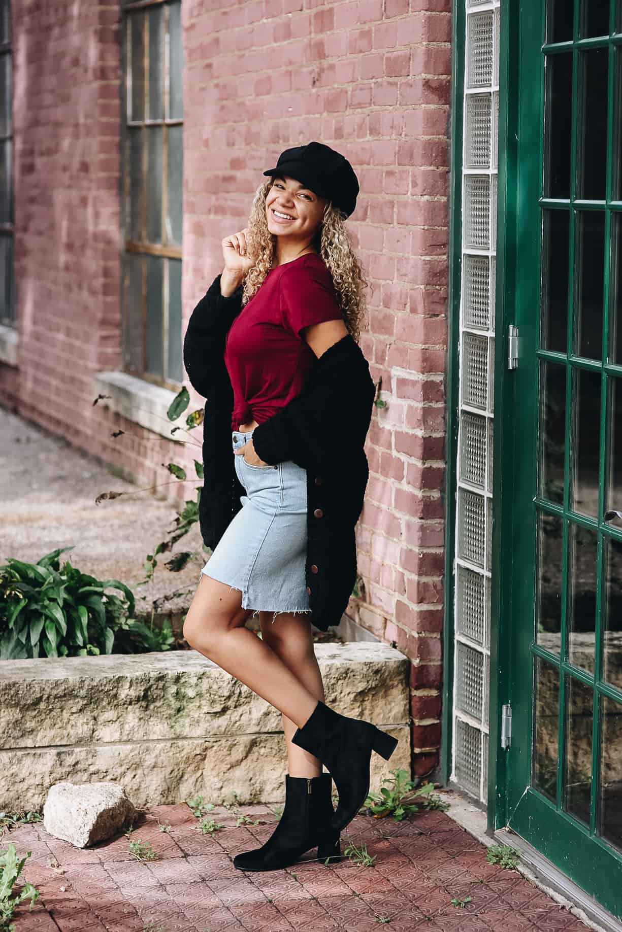 ankle boots outfit
