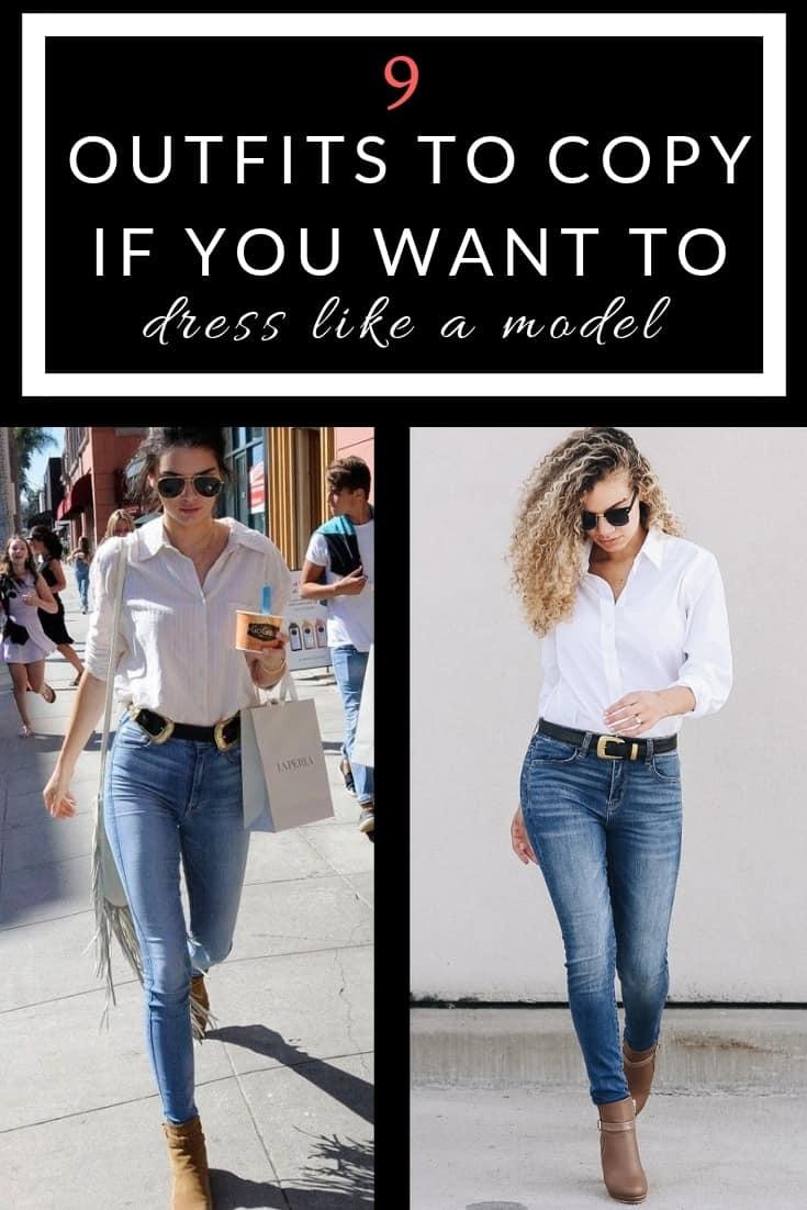 dress like a model
