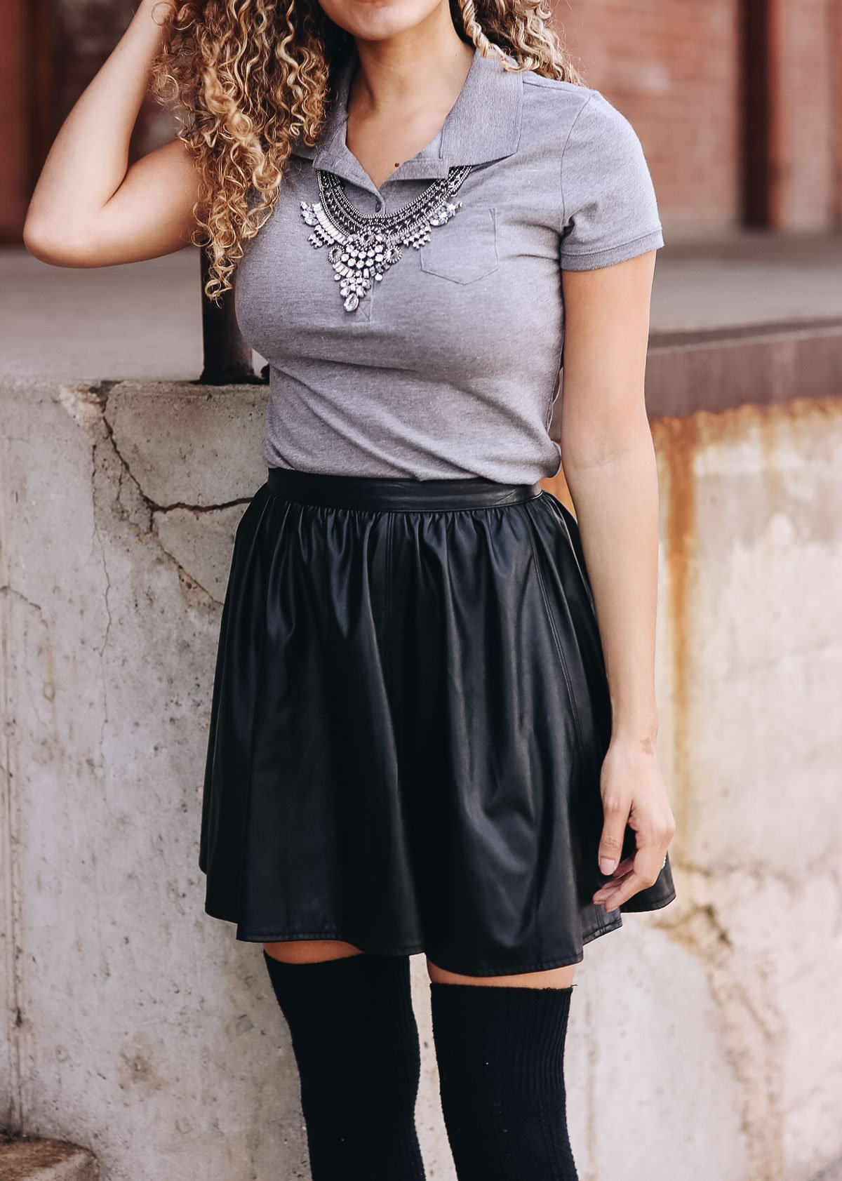 polo shirt outfit