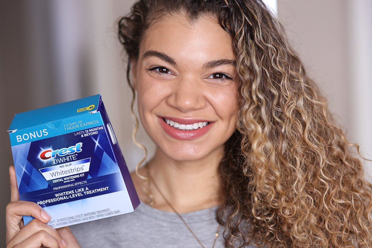 how to get white teeth with crest whitestrips