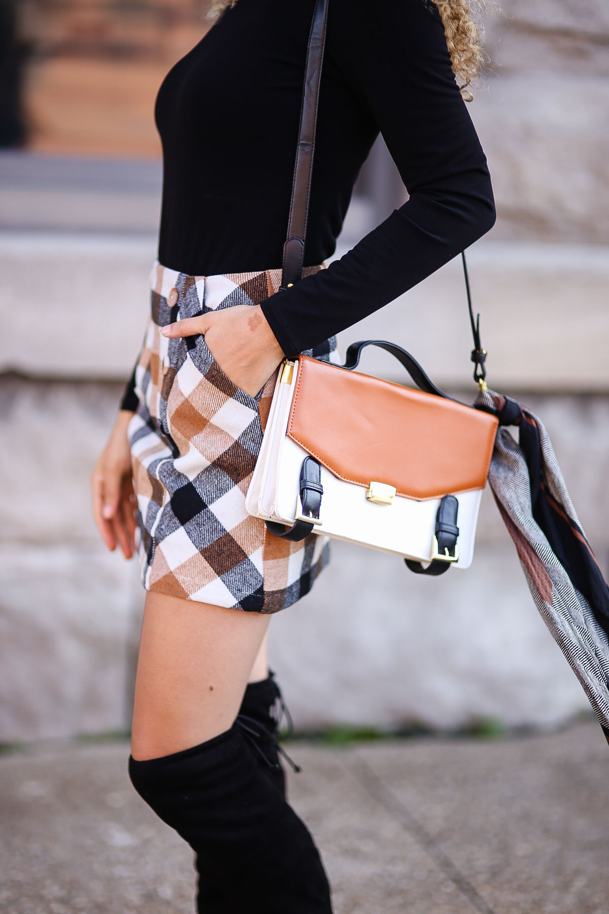 parisian chic outfit