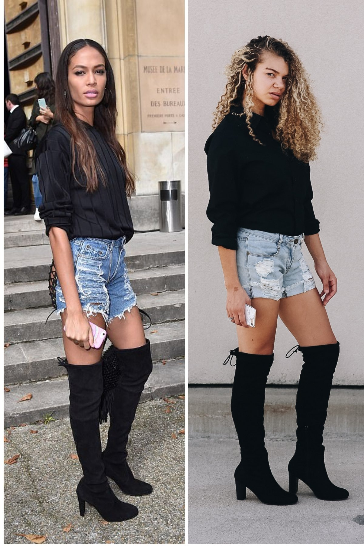 how to dress like a model
