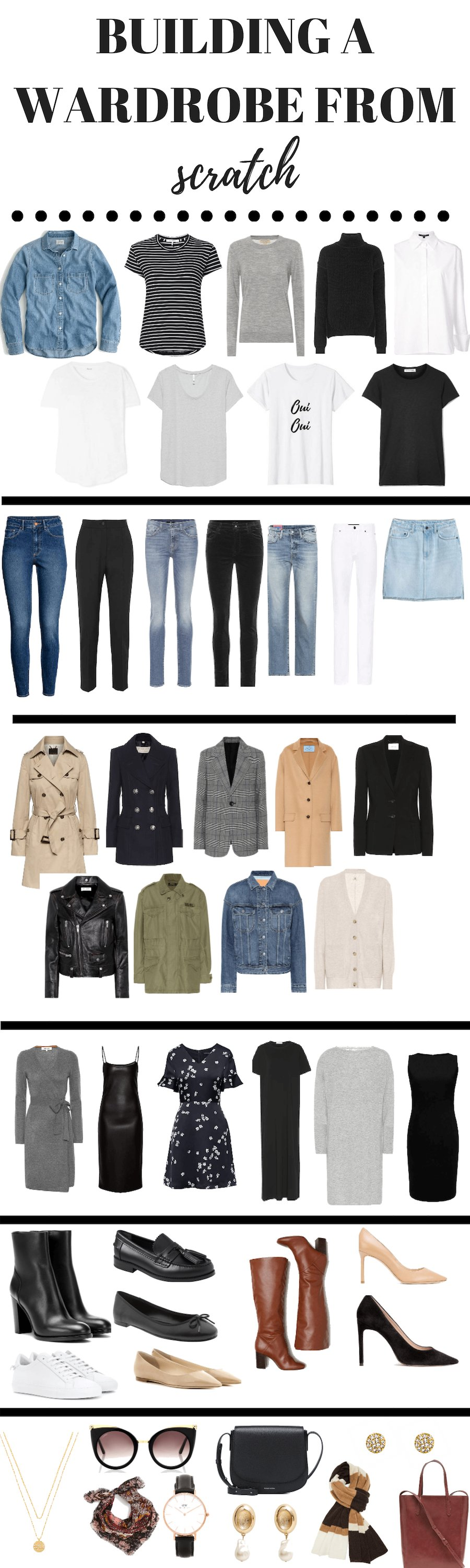 e6f27b5ad22fc Here s how to build a wardrobe from scratch. Your capsule minimalist  wardrobe is just one