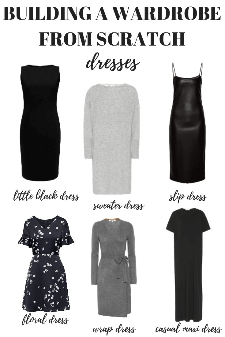 6a44f64ea09d6 Here s how to build a wardrobe from scratch starting with your dresses.  Your capsule minimalist