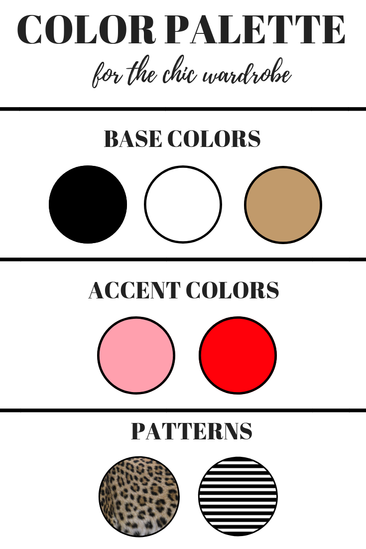 Here's how to build a wardrobe from scratch starting with your a chic color palette. Your capsule minimalist wardrobe is just one step away!