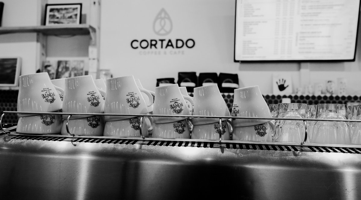 Cortado cafe in Iowa City. Things to do in Iowa City That Make for a Fun Trip