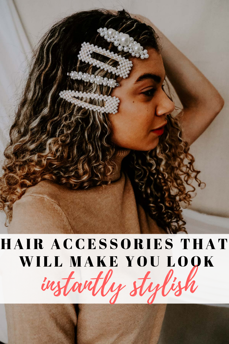 Do you love the hair accessories trend? Whether it's a clip, barrette or scrunchie, there's something for everyone!