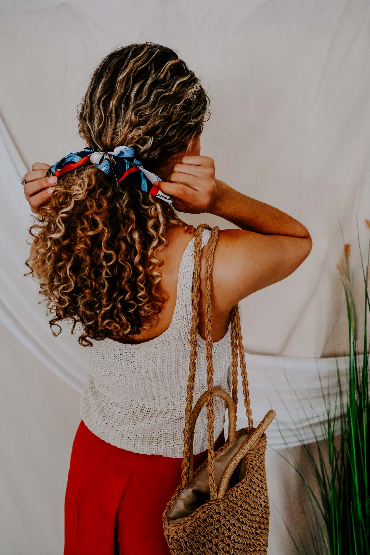 Do you love the hair accessories trend? Whether it's a clip, barrette or scrunchie, there's something for everyone! I'm loving these silk scarf scrunchies the most!