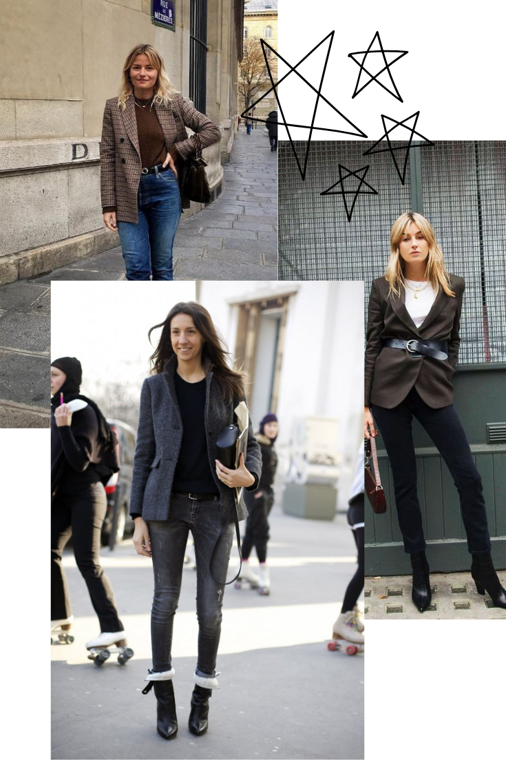 french styling tips and how to mix masculine and feminine