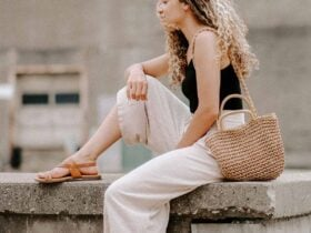 linen pants outfit for summer