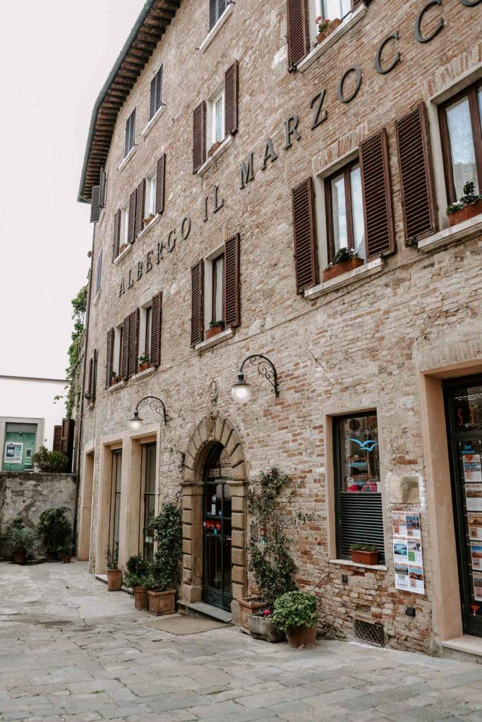 Montepulciano tuscany italy
