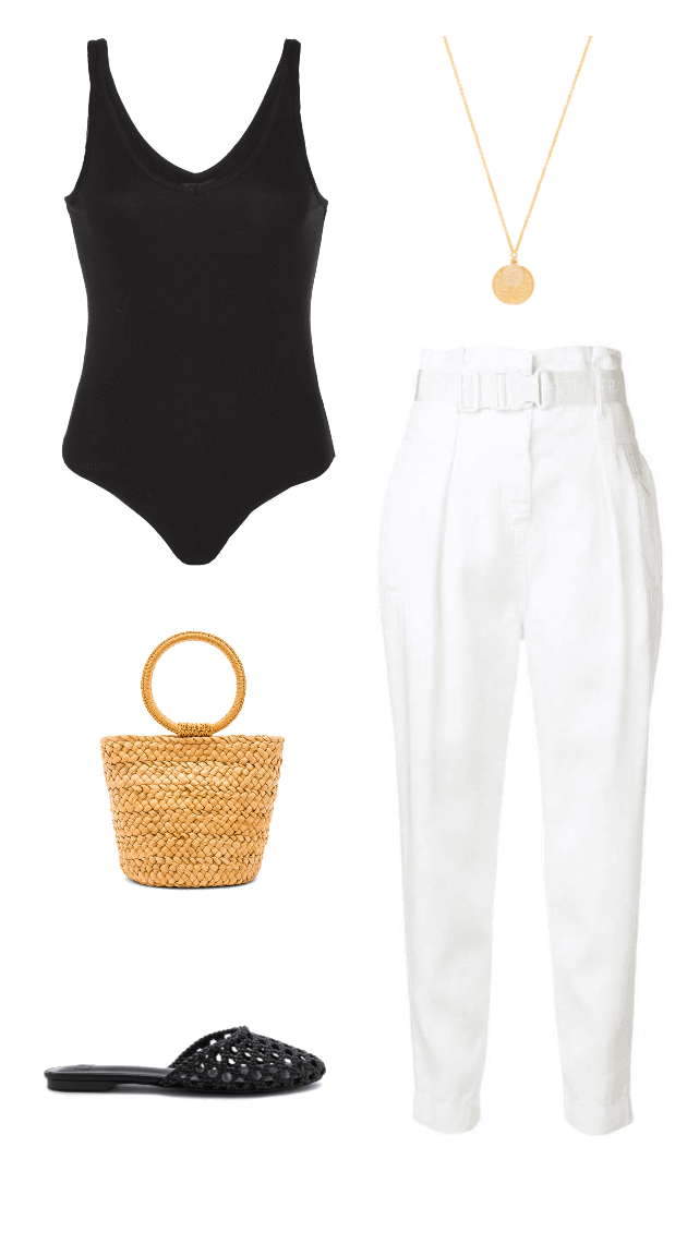 linen pants classic summer outfit idea