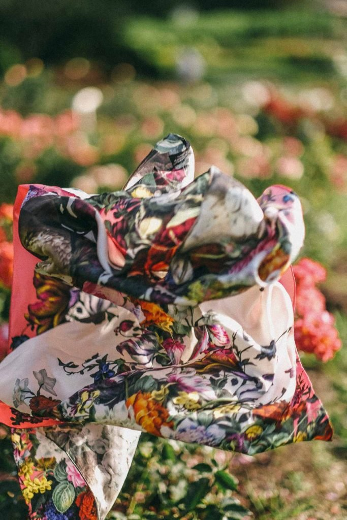 editorial garden photoshoot