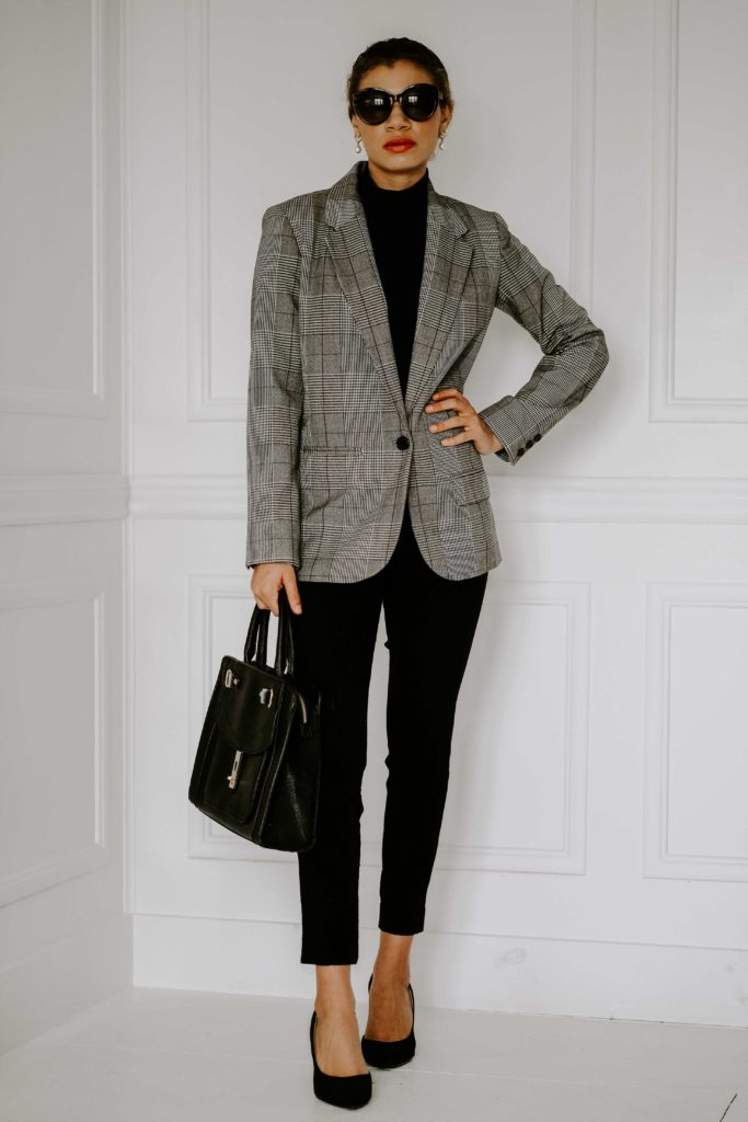 how to dress expensive with a blazer