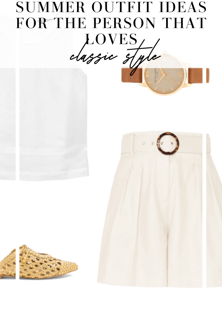 classic style outfit ideas for summer