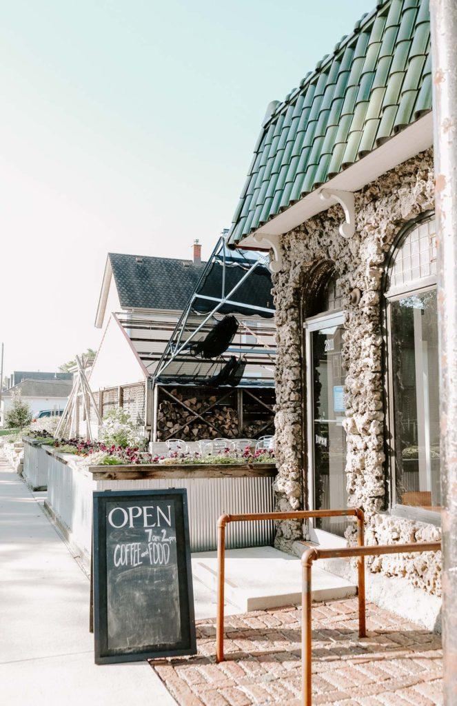 convivium coffee shop Dubuque, Iowa