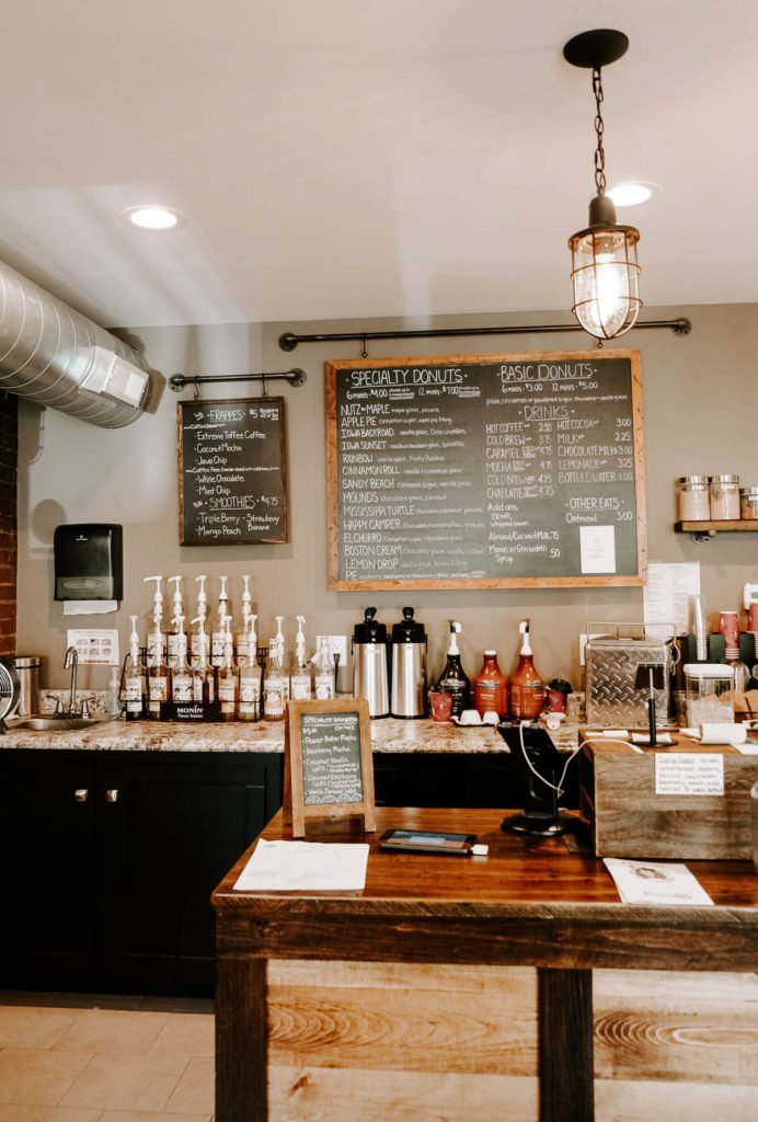 habits coffee shop Dubuque, Iowa