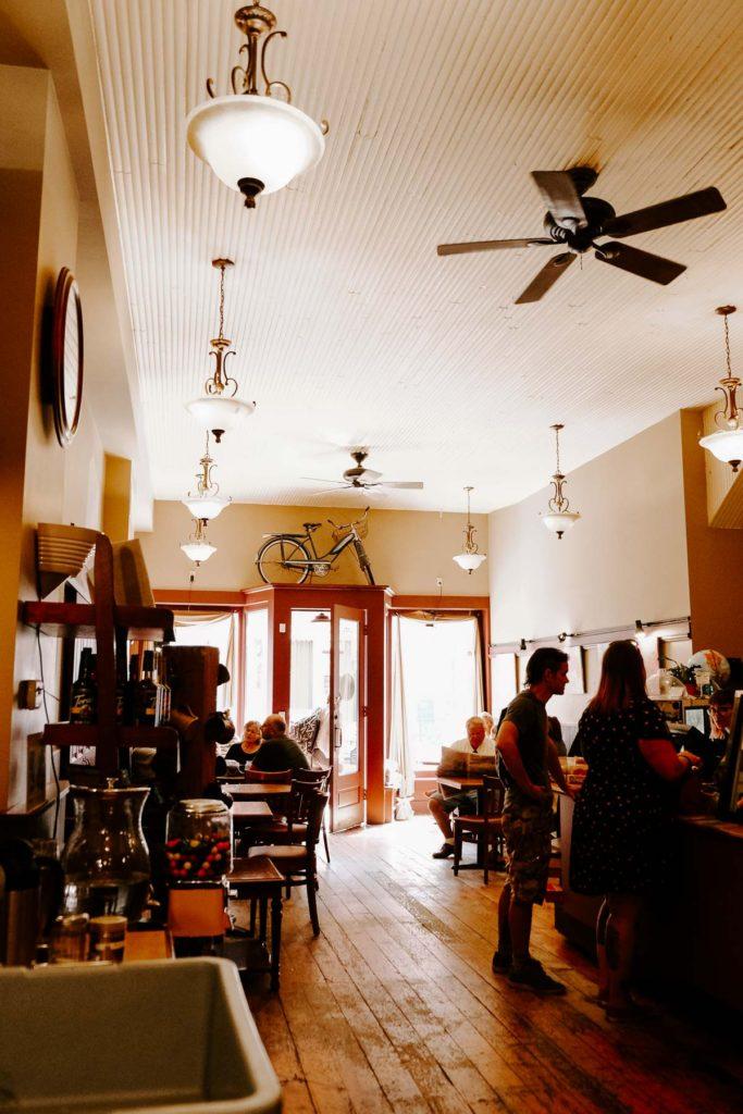 Jitterz coffee shop Dubuque, Iowa