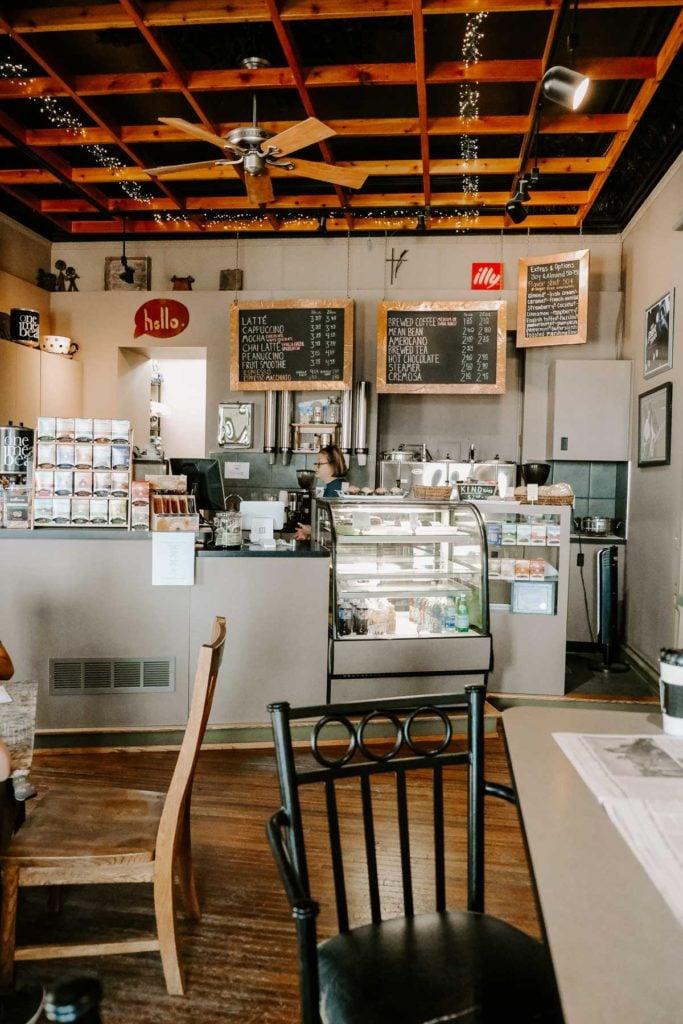 one mean bean coffee shop Dubuque, Iowa