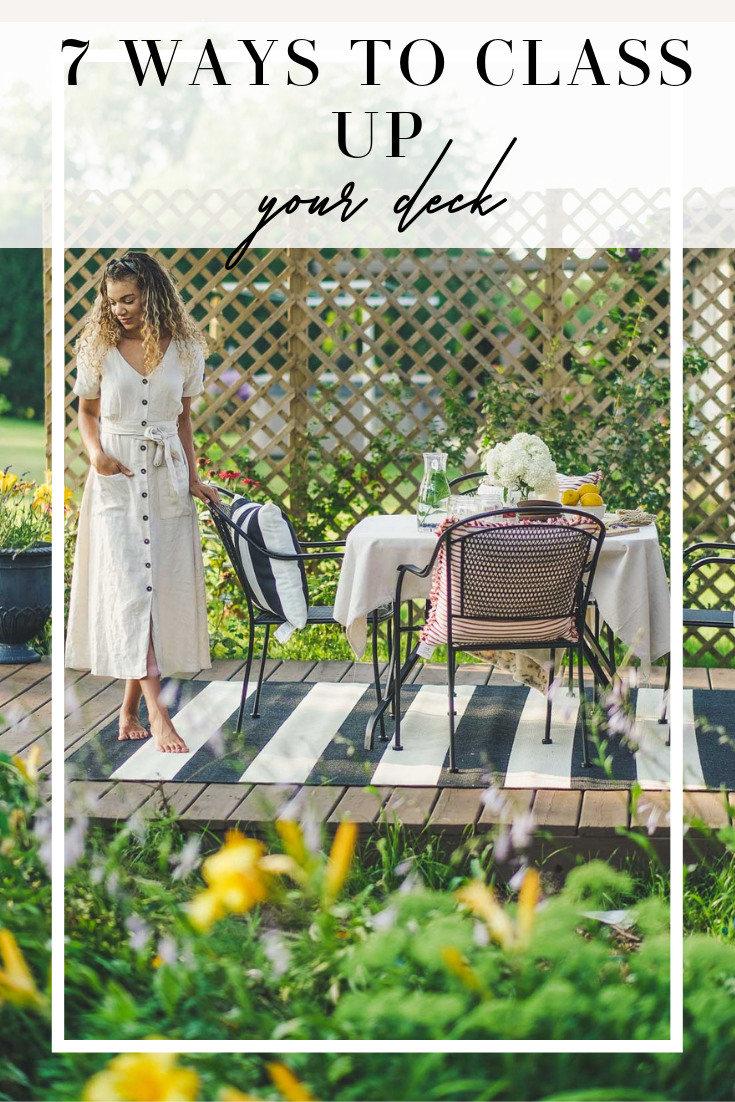 7 ways to class up your deck
