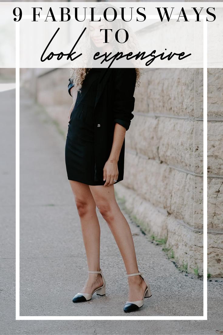 ways to look expensive