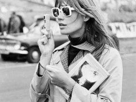 Françoise Hardy style icon