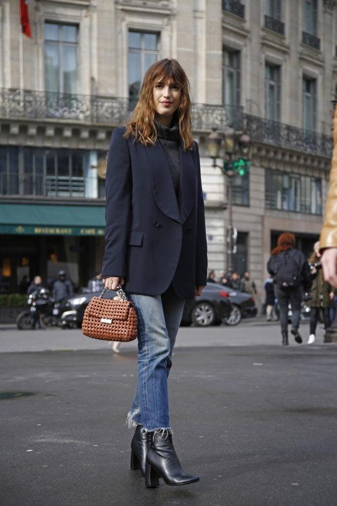 Parisian fall outfit combo