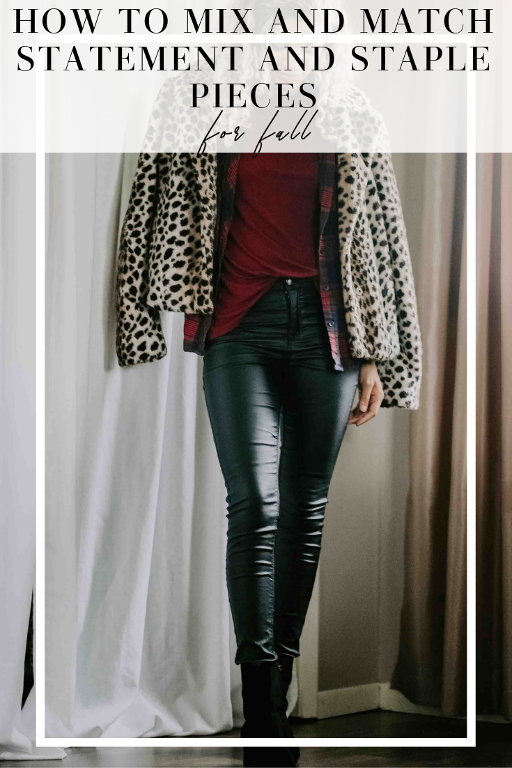 staple pieces for fall