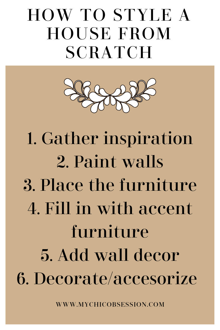 styling your house
