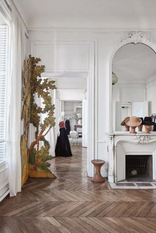 parisian interior style