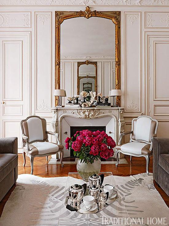 parisian apartment decoration
