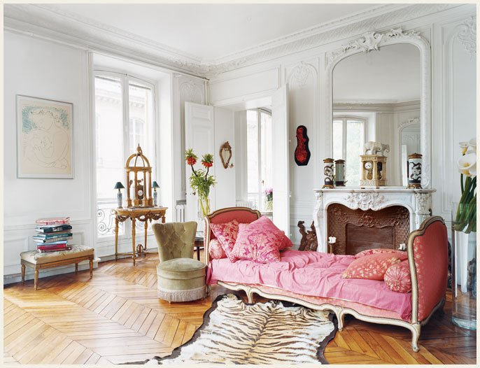 parisian french apartment