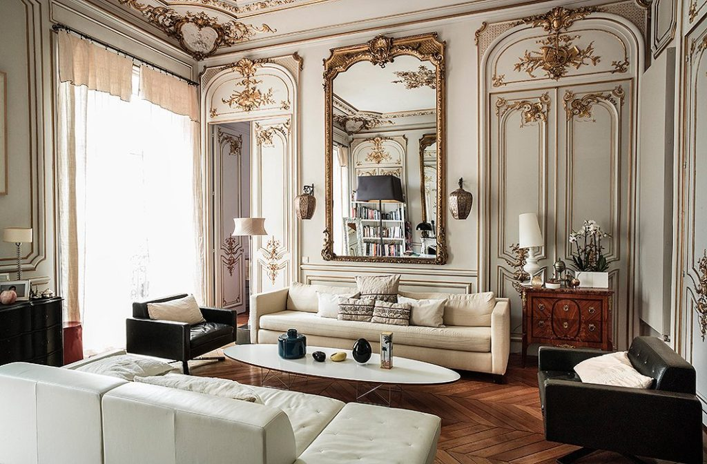 parisian interior decor